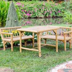 El bambú, la base de una decoración sostenible