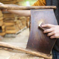 Restauración y venta de muebles de segunda mano en Lacados Cartaya